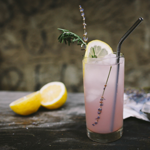 Herbal Tea recipe – Lavender Lemon Iced Tea